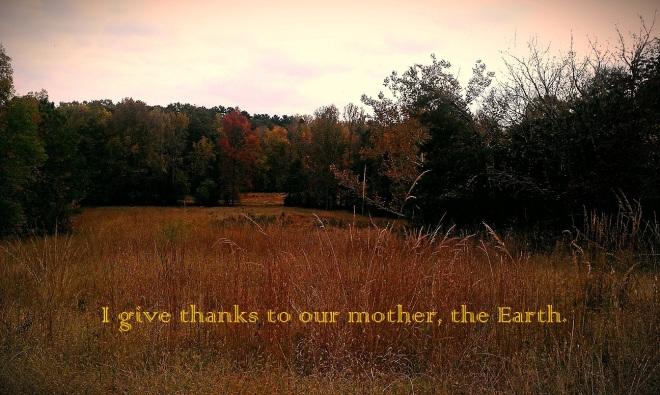 mother earth field thanks joyfuel