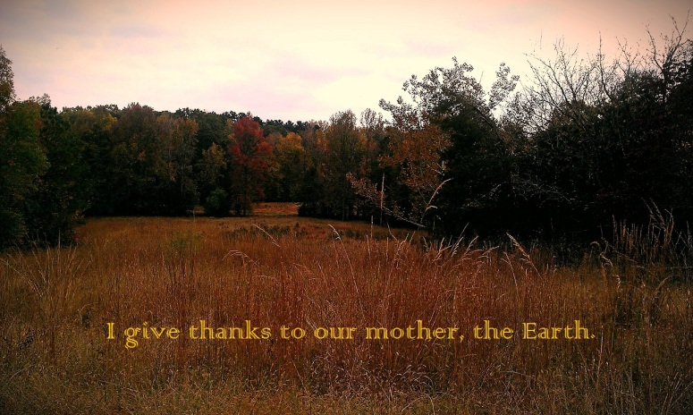 mother earth field thanks joyfuel
